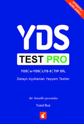 Foxton Books - YDS Test Pro Detaylı Açıklamalı Yepyeni Testler Foxton Books