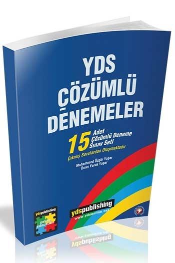 Ydspublishing Yayınları YDS Çözümlü 15'li Denemeler Açıklamalarıyla