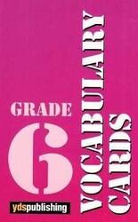 YDS Publishing - Ydspuplishing Yayınları Grade 6 Vocabulary Cards
