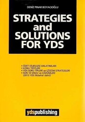 YDS Publishing - Ydspuplishing Yayınları STRATEGIES and SOLUTIONS FOR YDS