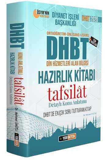 Yedibeyza Yayınları 2020 DHBT Tafsilat Konu Anlatımlı Hazırlık Kitabı