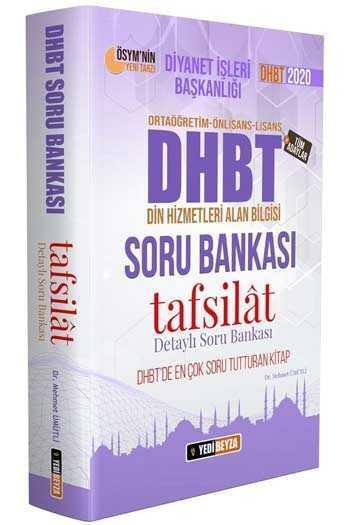 Yedibeyza Yayınları 2020 DHBT Tafsilat Serisi Tüm Adaylar İçin Soru Bankası