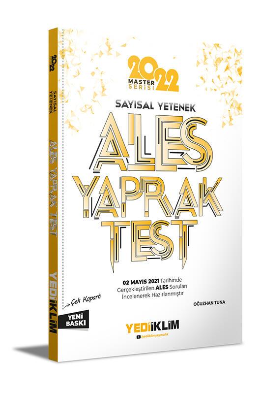 Yediiklim Yayınları 2022 Ales Sayısal Yetenek Çek Kopart Yaprak Test