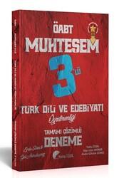 Yekta Özdil - Yekta Özdil 2020 ÖABT Türk Dili ve Edebiyatı Öğretmenliği Tamamı Detaylı Çözümlü Muhteşem 3 lü Deneme