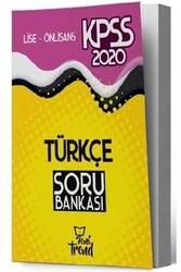 Yeni Trend Yayınları - Yeni Trend Yayınları 2020 KPSS Lise Ön Lisans Türkçe Soru Bankası