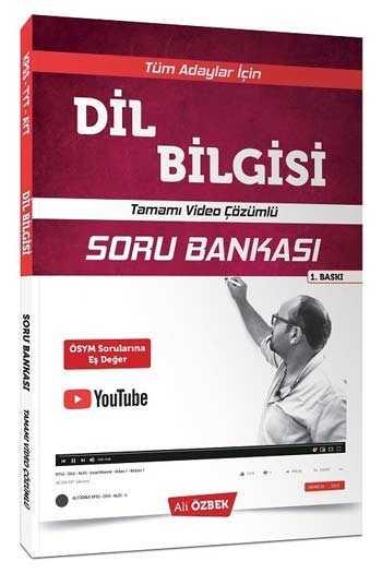 Yönerge Yayınları Tüm Adaylar İçin Dil Bilgisi Video Çözümlü Soru Bankası