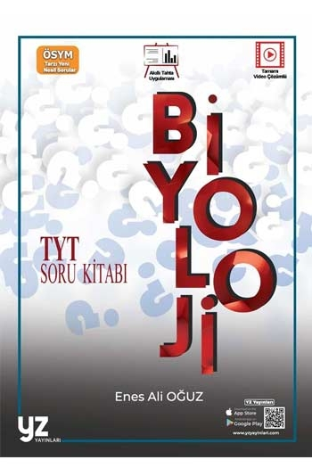 YZ Yayınları TYT Biyoloji Soru Kitabı